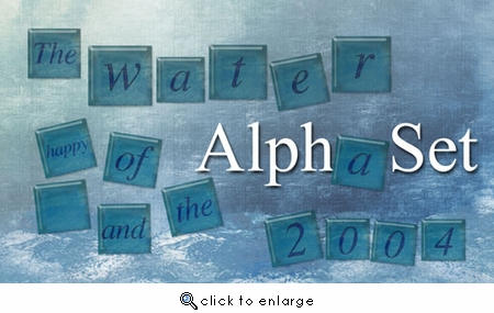 Water Tile AlphaSet