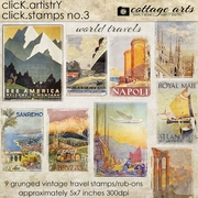 Click.Artistry Click.Stamps 3 - World Travels