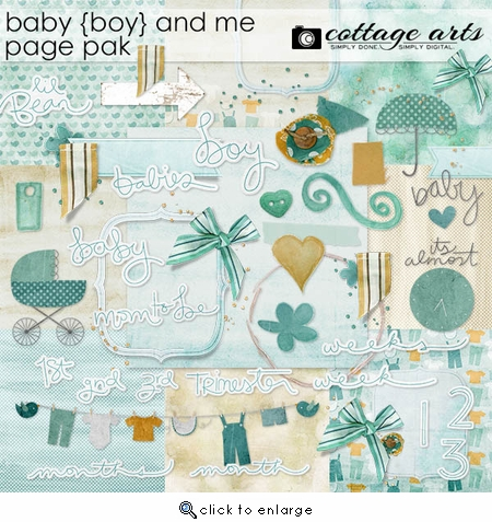 Baby Boy and Me Page Pak