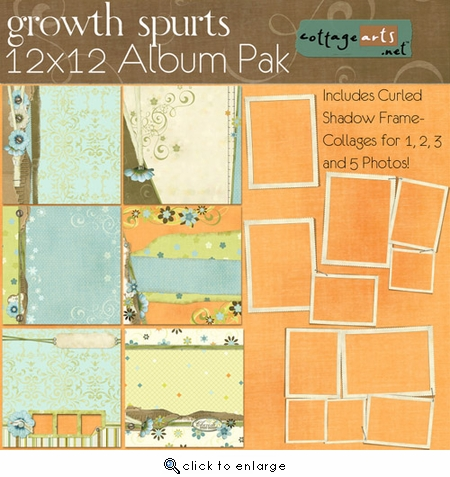 Growth Spurts 12x12 Album Pak