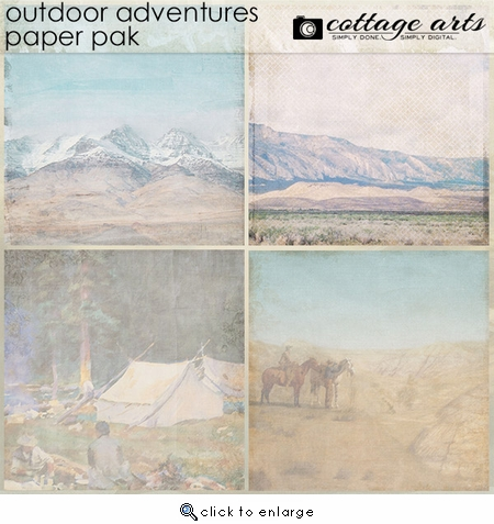 Outdoor Adventures Paper Pak