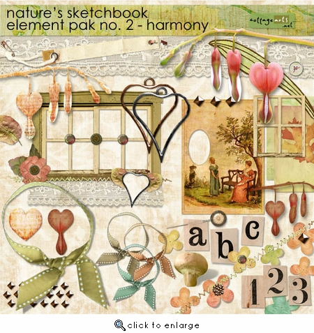 Nature's Sketchbook Element Pak 2 - Harmony