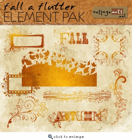 Fall a Flutter Element Pak