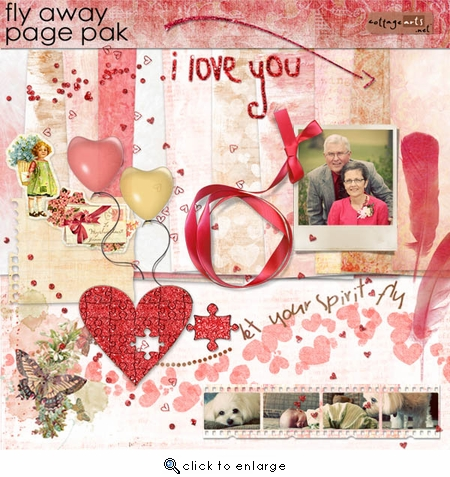 Fly Away Page Pak