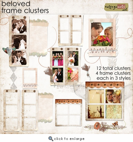 Beloved Frame Clusters
