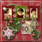 Homespun Christmas AlphaSet & Element Pak