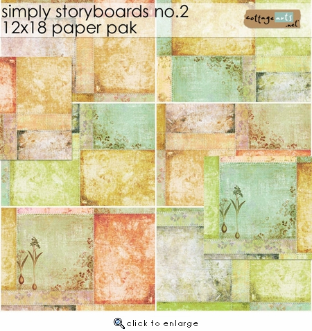 Simply Storyboards 2 - 12x18 Paper Pak