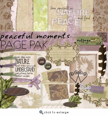 Peaceful Moments Page Pak