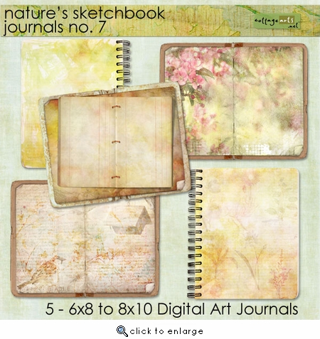 Nature's Sketchbook Journals 7