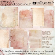 Everyday Art Journal Cards 2