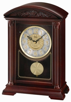Seiko QXW217BLH Melodies in Motion Musical Mantel Clock
