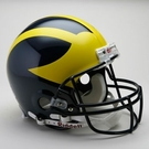 Michigan Wolverines Autographed Full Size On Field Authentic Proline Helmets