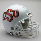 Oklahoma State Cowboys 1984-1992 Throwback Riddell Authentic NCAA Full Size On Field Proline Football Helmet