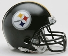 Mel Blount - Autographed Pittsburgh Steelers Riddell Mini Football Helmet