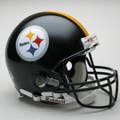 Mel Blount - Autographed Pittsburgh Steelers Riddell Full Size Authentic Proline Football Helmet