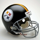 Mel Blount - Autographed Pittsburgh Steelers Throwback Riddell Full Size Deluxe Football Helmet