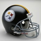 Mel Blount - Autographed Pittsburgh Steelers Throwback Riddell Full Size Authentic Proline Football Helmet