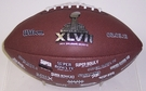 Super Bowl XLVII Replica Game Full Size Football