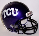 Texas Christian University Autographed Mini Helmets