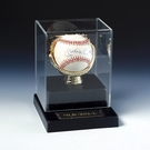 Baseball: Display Cases for BaseBalls , Bats & Batting Helmets