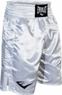 Everlast White Boxing Trunks (Top of Knee)
