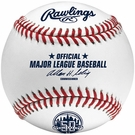 Official 2012 New York Mets 50th Anniversary Rawlings Baseball