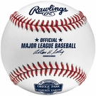 Official 2012 Camden Yards 20th Anniversary Baltimore Orioles Rawlings Baseball - with display cube