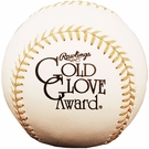 Rawlings - Official Gold Glove Award Baseball - Model Number:  RGGBB