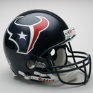 Houston Texans Autographed Full Size On Field Authentic Proline Helmets