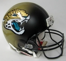 Jacksonville Jaguars Riddell Authentic NFL Full Size On Field Proline Football Helmet