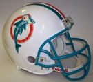 Miami Dolphins 1980-1996 Throwback Riddell Authentic NFL Full Size On Field Proline Football Helmet - Dan Marino Mask