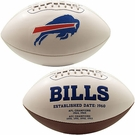 Buffalo Bills Logo Full Size Signature Series Football