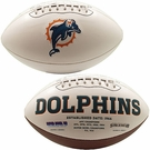 Miami Dolphins Logo Full Size Signature Series Football