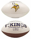 Minnesota Vikings Logo Full Size Signature Series Football