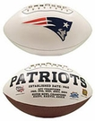 New England Patriots Logo Full Size Signature Series Football