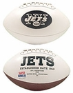 New York Jets Logo Full Size Signature Series Football