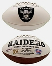 Oakland Raiders Logo Full Size Signature Series Football