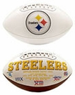 Pittsburgh Steelers Logo Full Size Signature Series Football