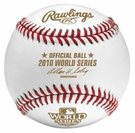 Rawlings Official 2010 World Series Game Baseball - Model Number: WSBB10