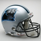 Carolina Panthers Autographed Full Size On Field Authentic Proline Helmets