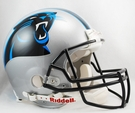 Carolina Panthers Riddell Authentic NFL Full Size On Field Proline Football Helmet