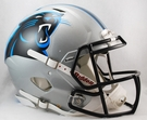 Carolina Panthers Riddell Authentic Revolution Speed NFL Full Size On Field Football Helmet