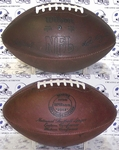 "Wilson Official  Leather F1250 NFL ""THE DUKE"" Throwback Football"