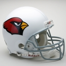Arizona Cardinals Autographed Full Size On Field Authentic Proline Helmets