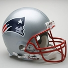 New England Patriots Autographed Full Size On Field Authentic Proline Helmets