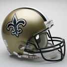 New Orleans Saints Autographed Full Size On Field Authentic Proline Helmets