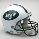 NY Jets Autographed Full Size On Field Authentic Proline Helmets