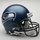Seattle Seahawks Autographed Full Size On Field Authentic Proline Helmets