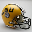 LSU Tigers Autographed Full Size On Field Authentic Proline Helmets