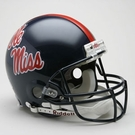 Ole Miss Autographed Full Size On Field Authentic Proline Helmets